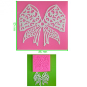 Intricate Large Bow Lace Silicone Mould Mould for Cake Decorating Cake Cupcake Toppers Icing Sugarcraft Tool by Fairie Blessings