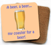 My coaster for a beer coaster