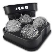 Flamen Fast-Release Ice Ball Maker Tray