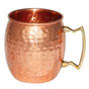 Handmade Moscow Mule Copper Mug - Copper Barware & Drinkware - Great Bar Gifts for All Occasions