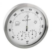 Round Metal Barometer - Thermometer -Hygrometer 20cm