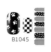 Nail Art Foils Patch Polish Stickers-B1045 Nail Sticker Tatto - FashionLife