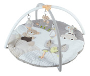 New Baby Musical Jumbo Play Mat Activity Gym - Beige
