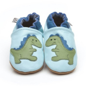 Soft Leather Baby Shoes Dinosaur 6-12 Months