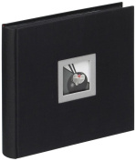 Walther Black & White FA-209-B Linen Album 26 x 25 Black