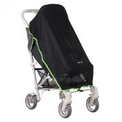 Koo-di Pack-it Sun and Sleep Stroller Cover Dark Grey