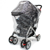Joie Aire Travel System Raincover Professional Heavy Duty Rain Cover