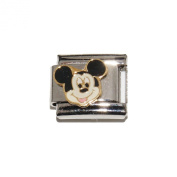 Mickey Mouse - 9mm Italian charm - will fit Nomination bracelets