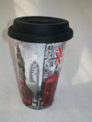 London Ceramic Travel Mug - Double Walled