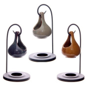 Teardrop Shape Hanging Oil Burner with Stand