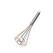 Dexam Silicone Whisk - Multi Coloured 25Cm - Stainless Handle
