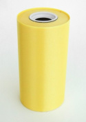 15cm Wide Yellow Ceremonial Ribbon for Grand Openings/Re-Openings and Ribbon Cutting Ceremonies - 25 Yard Roll