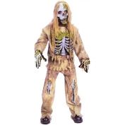 Mens Ladies Unisex M Boy - Skeleton Zombie. Outfit Costume for Halloween Living Dead Fancy Dress