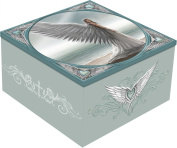 New Gothic Anne Stokes Spirit Guide Angel Trinket /Jewellery Box Nemesis Now