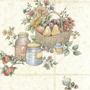 BHF 12475 Tile Profile Pots Pans Kitchen and Bathroom Wallpaper - Cream