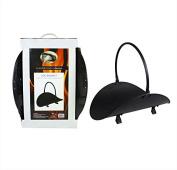 Fire Fireplace Indoor Log Holder Storage Rack Basket Black