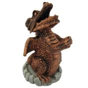 Copper Smoking Dragon Incense Cone Holder