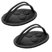Great Ideas Two Magnetic Foot Arch Support Pads - Neoprene Magnet Feet Pain Relief Therapy