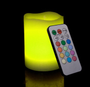 Remote Control Multi-Colour Flameless LED Candle