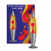 Red Yellow Lava Motion Lamp