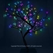 The Benross Christmas Workshop 45 cm 48 LED Blossom Tree, Multi-Colour