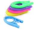 Homgaty 5pcs Colourful Candy Colour Travel Folding Foldable Portable Mini Clothes Hanger -Random Colour