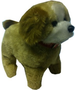 Kids Cute Walking, Barking, Flipping Puppy Toy - Battery Powered Dog Birthday