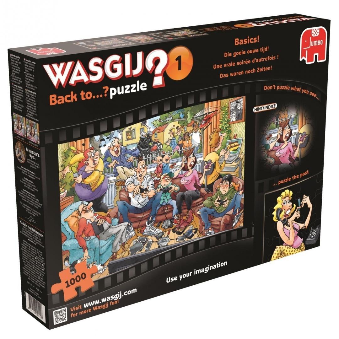 Jumbo Wasgij Back To 1 Back To Basics Jigsaw Puzzle 1000 Piece