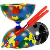 Jester Diabolo, Superglass Handsticks & Juggle Dream 'Learn to Play Diabolo' DVD