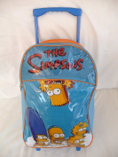Childrens Large Premium Simpsons Trolley Bag Suitcase
