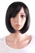 MapofBeauty Beautiful Women's Short Straight BOB Wig