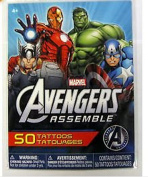 Avengers Assemble Tattoos! 50 Tattoos per Package!