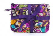 Vera Bradley Cosmetic Trio Plum Crazy - Vera Bradley Ladies Cosmetic Bags