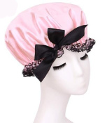 Fashion Design Stylish High Quality Reusable Shower cap with Beautiful pattern and colour