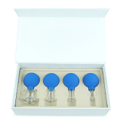 Face & Body Glass Vacuum Cupping Therapy Gift Set ~ Best Quality in Class Massage Cups ~ Professional Grade