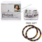 Shahnaz Husain Platinum Ultimate Cellular Skin Recharge Scrub - with FREE GIFT Pair of Multicolor Bangles