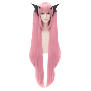 HH Building Seraph of the End krul tepes Cosplay Wig Krul Tepes Women Anime Costume Long Straight Split Wig Hair