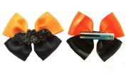 Halloween Bat Bow Hair Bow