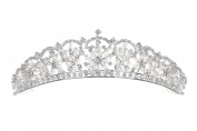 Bridal Snowflake Rhinestone Crystal Prom Wedding Tiara Crown T1105