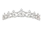Handmade Snowflake Bridal Rhinestone Crystal Prom Wedding Tiara Crown T1121