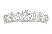 Bridal Pageant Rhinestone Crystal Prom Wedding Tiara Crown T1051