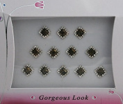 Pretty Diamond Shape Bindis for Beautiful Women