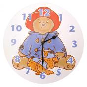Trend Lab Paddington Bear Wall Clock, Marmalade