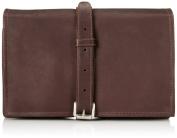 Piel Leather Tri-Fold Buckle Toiletry Kit