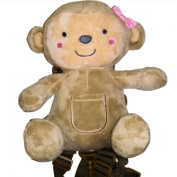 Child of Mine 2-in-1 Harness Buddy (Girl Bear) by Goldbug