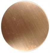 RMP Stamping Blanks, 7.3cm Round, 470ml Copper, 24 Ga. - 18 Pack