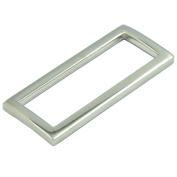 "Bluemoona 20 Pcs - 1.5"" 38mm Metal Rectangle Rings Webbing Buckles for Straps, Bags, Purses, Belting, Ribbon"