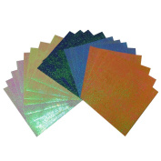 Aurora Colour Folding Paper Origami 60 Sheets 15x15cm