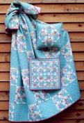 Flower Pot Quilt and Pillow Pattern