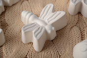 DIY handmade plaster craft blank for painting Dragonfly